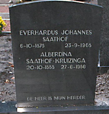 Everhardus Joh. Saathof kopstuk