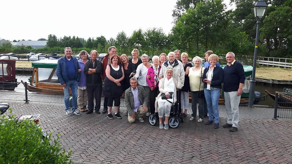 Gezellige familiedag in Giethoorn.