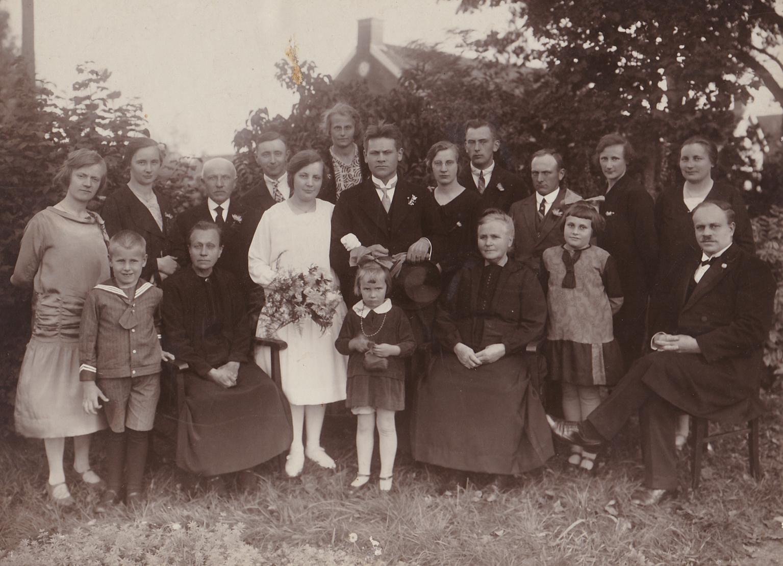 Huw. foto Eildert en Trijn 1928
