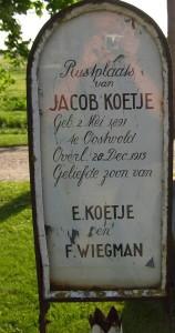 Jacob Koetje  zoon