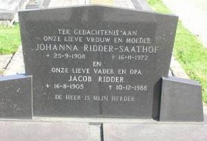 Johanna Saathof Ridder