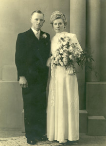 Be en Rika trouwfoto 1947