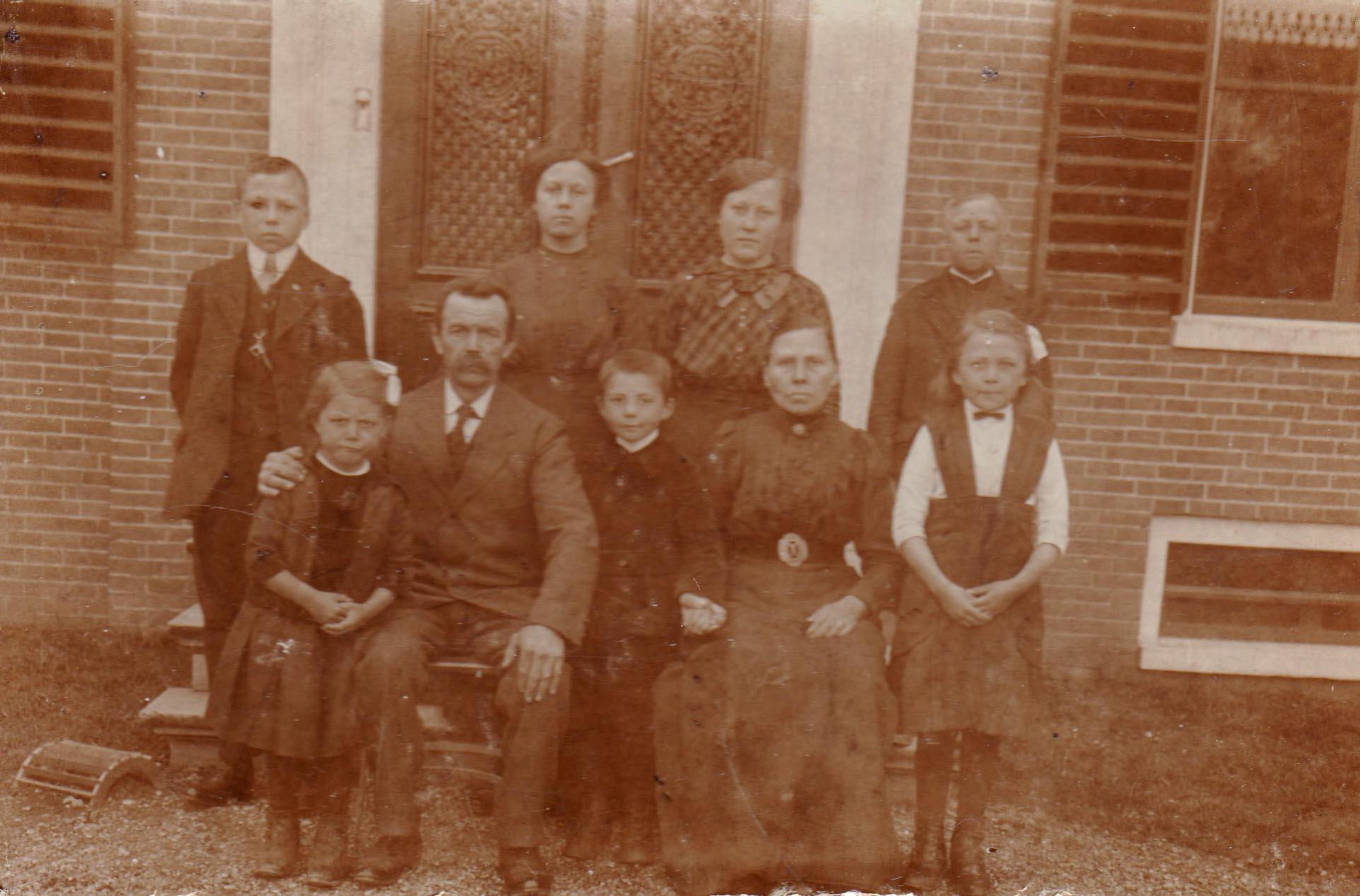 Familie Herman Wolgen Nieuwolda